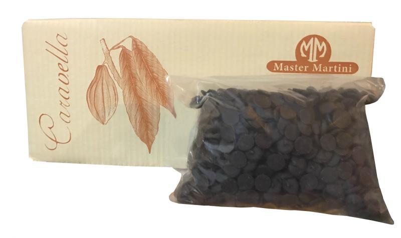 買挺您-非調溫苦甜黑巧克力鈕釦