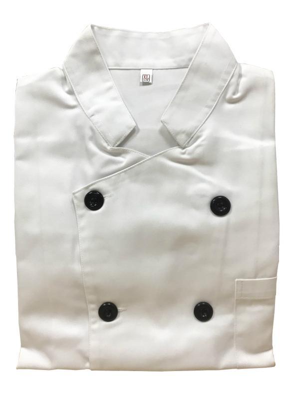 萊成-.短袖廚師服